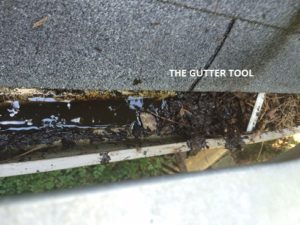 water MUD gutter